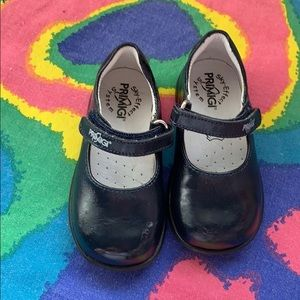 Primigi navy blue toddler Mary Jane shoes